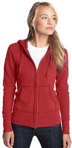 District Juniors French Terry Full-Zip Hoodie