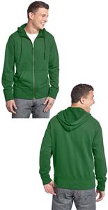 District Young Men's French Terry Full-Zip Hoodie
