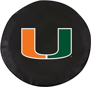 Holland NCAA University of Miami FL Tire Cover