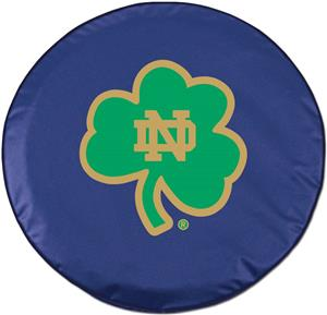 Holland NCAA Notre Dame Shamrock Tire Cover