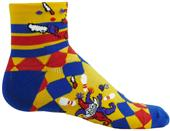 Red Lion Zany Juggler Performance Crew Socks CO