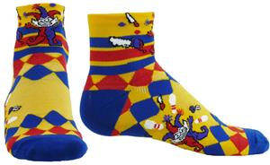 Red Lion Zany Juggler Performance Crew Socks