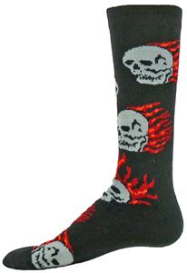 Red Lion Men's Pyro Dress Sport Comfort Crew Socks