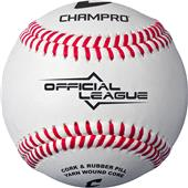Champro Official CBB-195 Raised Seam Baseballs