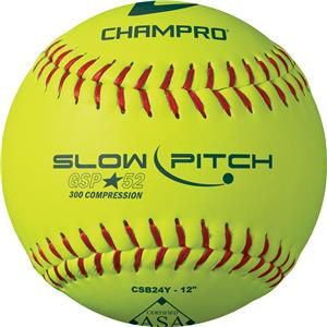Champro Game .52 ASA Slow Pitch Softballs