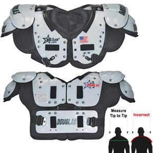 Douglas Pads Football SP QB/WR Shoulder Pads