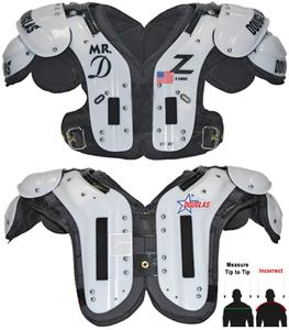 "Douglas Pads Football SP ""Mr. DZ"" Shoulder Pads"