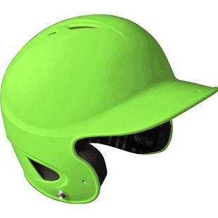 Rubberized Matte Finish Performance Batting Helmet