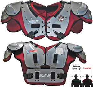 Douglas Pads Football Nitro NP QB/WR Shoulder Pads