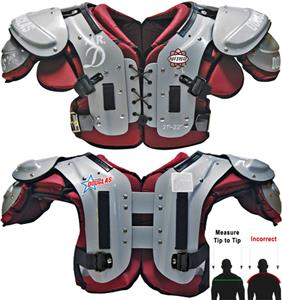 "Douglas Pads Football NP ""Mr. DZ"" Shoulder Pads"