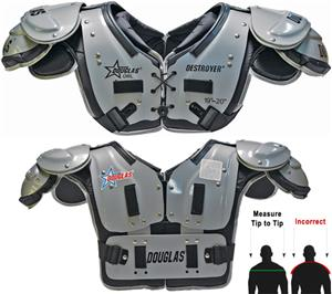 Douglas Pads Football DP QB/WR Shoulder Pads