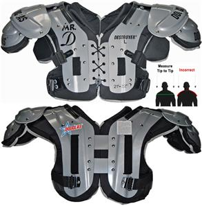 "Douglas Pads Football DP ""Mr. DZ"" Shoulder Pads"