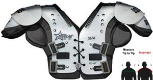 Douglas Pads Football JP 36 Youth/Jr Shoulder Pads