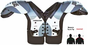 Douglas Pads Football Commando Shoulder Pads