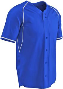 Cycle Dri-Gear 2 Button Faux Baseball Jersey