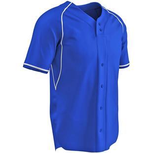 Cycle Dri-Gear 2 Button Faux Baseball Jersey