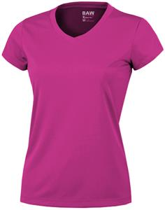 Baw Ladies Short Sleeve Xtreme-Tek Pink T-Shirts
