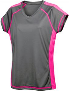 Baw XT Ladies/Girls' Sideline SS Pink T-Shirt