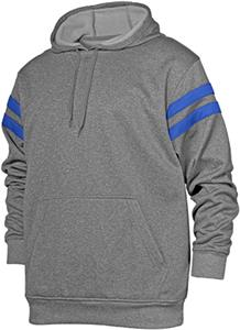 Baw Adult Hybrid Hooded Fleece Sweatshirt/Pullover