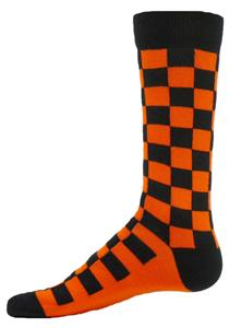 Red Lion Squares Crew Socks