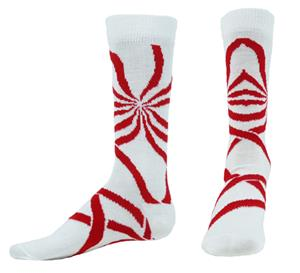 Red Lion Vortex Crew Socks