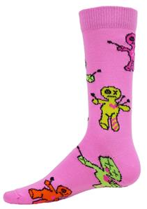 Red Lion Jinx Voodoo Doll Crew Socks - Closeout