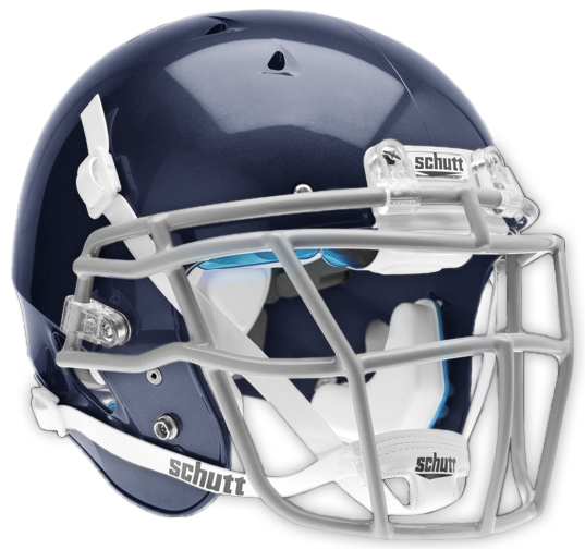 E72202 Schutt Youth Recruit Hybrid Football Helmets