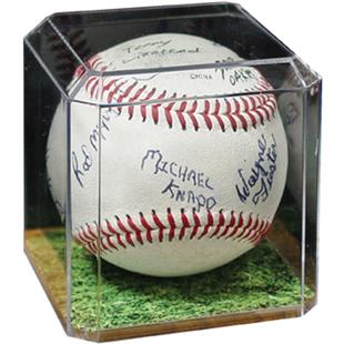 Pioneer Baseball Display Holder w/Grass Insert