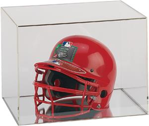 BallQube Football Display Case Helmet Holder