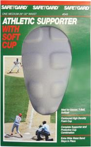 SafeTGard Athletic Supporter & Contoured Soft Cup
