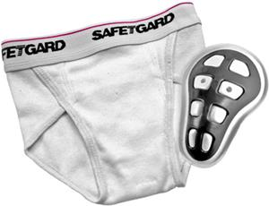 SafeTGard Youth Athletic Briefs With Hard Cup