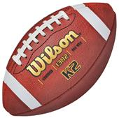 Wilson K2 Traditional Leather Game Footballs