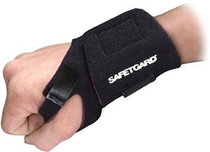 SafeTGard Neoprene Foam Wrist Wrap