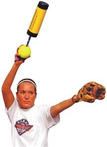 Xelerator Fastpitch Softball Pitching Training Aid