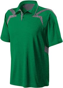 Holloway Fusion Heathered Micro-Interlock Polo