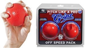 Gripz Pitch Like A Pro Training Baseballs 2PK