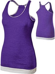Holloway Juniors' Pep Vintage Heather Tank Top