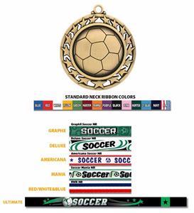 Hasty Awards Soccer Medal #440S