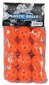 "Markwort Plastic 5"" Pliable Golf Balls (1 DZ)"