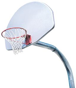 Aluminum Basketball Goal-Rim/Post/Backboard/Net