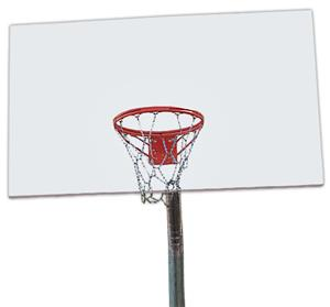Steel Basketball Goal-Rim/Post/Backboard/Net