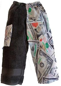 Kiki's Nation Money Towel Pants