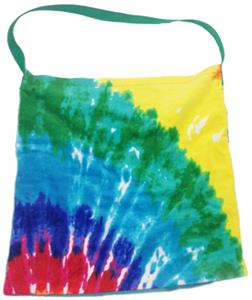 Kiki's Nation Multi Tie-Dye Towel Shoulder Bag