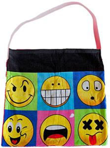 Kiki's Nation Smiley Towel Shoulder Bag