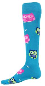 Red Lion Owl Knee High Socks