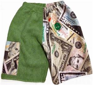 Kiki's Nation Money Towel Jammers Shorts