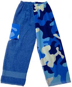 Kiki's Nation Camo Towel Pants