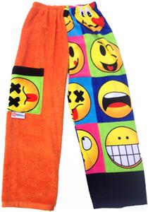 Kiki's Nation Smiley Towel Pants