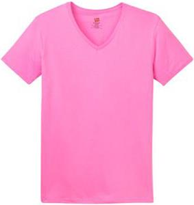Hanes Ladies ComfortSoft V-Neck T-Shirts