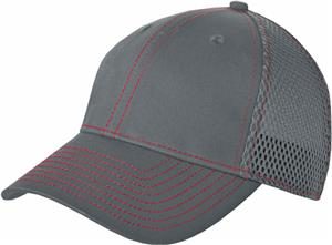 New Era Adult Stretch Mesh Contrast Stitch Cap